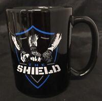 Marvel Comics Agents of Shield Coffee Mug Ceramic black Tall