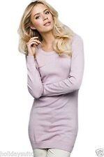Jerséis y cárdigan de mujer de color principal rosa 100% algodón