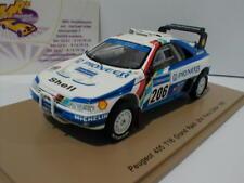Spark S5617 - Peugeot 405 T16 No.206 2nd Paris Dakar 1989 Ickx,Tarin 1:43 NEU