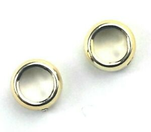 2x New Lego Chrome Gold Uensil Ring 1 x 1 Lord Of The Ring part 11010