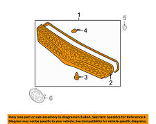 TOYOTA OEM 05-08 Matrix-Grille 5310102080