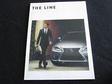 2014 Lexus Catalog IS350 F Sport ISC ISF LS460 GS ES RX 350 LX570 GX460 Brochure