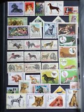 COLLECTION OF THEMED STAMPS: DOGS