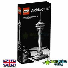 LEGO Architecture 21003 Seattle Space Needle * BRAND NEW & SIGILLATO * RARE * smobilizzato