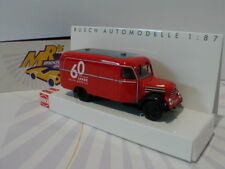 """Busch 51812 - Robur Garant K 30 in rot """" 60 Jahre Busch """" Baujahr 1957 1:87 NEU"""