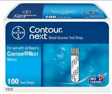 Bayer Contour Next Blood Glucose Test Strips 100