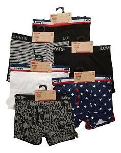 Ex Levis Boys Underwear Boxers Pants Kids Designer Childrens Teenager Men 2 PACK