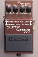 Boss OC-3 Dual Super Octave Pedal FREE 2DAY