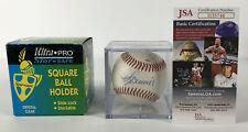 Mike Scioscia Signed Baseball Auto Autograph Ball Arizona Fall Manager JSA COA 2