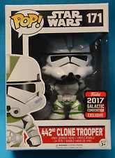 Galactic Convention 2017 Star Wars 442 Clone Trooper Pop + Pop Protector
