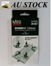 KATO 20-027 Road Crossing Track #2 124 mm (S124C) with gates, N Gauge