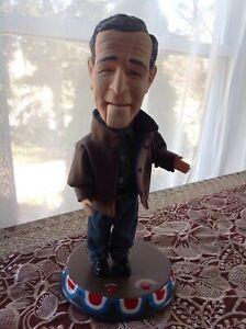 """George W Bush Animated Figure 12"""" Gemmy Pop Culture Talking Head Turning Doll"""