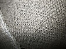 100%  LINEN FABRIC natural MED WT ORGANIC FLAX 7.5 oz PRICE PER YARD