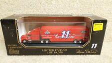 1993 Racing Champions 1:87 Premier NASCAR Bill Elliott Amoco Transporter #11