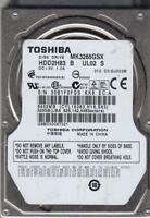 MK3265GSX, C0/GJ003M, HDD2H83 B UL02 S, Toshiba 320GB SATA 2.5 Bsectr HDD