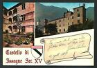 Issogne ( Valle d'Aosta ): Castello - cartolina non viaggiata, anni '70