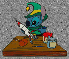 Stitch in Santa's Workshop Pin - Disney Auctions Pin LE 250