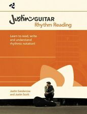 Justin Guitar Rhythm Reading for Guitarists - Book NEW 014048332