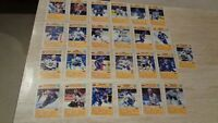 1992-93 Blue Shield Buffalo Sabres Near Set of 25 Postcards - Missing Donnelly