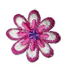IRON ON PATCH APPLIQUE - DAISY