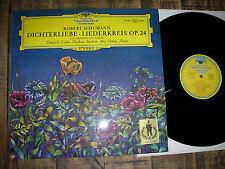 M-/NM ´67 DGG  TULIP SLPM : SCHUMANN Dichterliebe / Liederkreis FISCHER-DIESKAU