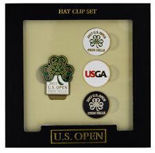 2017 Us Open (Erin Hills) Hat Clip Set w/3-Golf Ball Markers