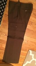 G1 olive khaki wool pants pocket detail size 4 mint condition