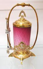 Vintage Antique Ombre Pink Pickle Jar