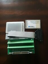 National Instruments Pcmcia Daqcard-1200 Card with Cable and breakout.