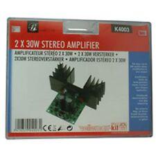 30 W estéreo amplificador de Audio Velleman Kit k4003