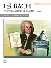 Bach - Well Tempered Clavier Vol. 1, Alfred ed.