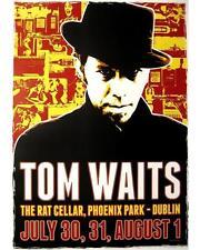 "TOM WAITS KUNSTDRUCK VON DANNY BOY ""DUBLIN RAT CELLAR"" - POSTER"