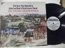 648085 PETER SCHREIER German Folk Songs DRESDNER KREUZCHOR TELEFUNKEN STEREO 2LP