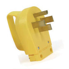 50 Amp Electrical Cord Male Replacement Plug End w/Handle - RV Camper Motorhome