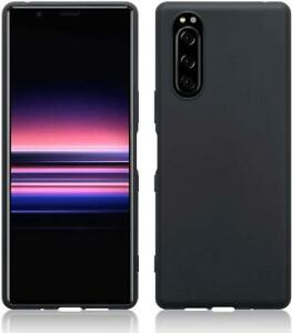 For Sony Xperia 10 III Case, Slim Shockproof Silicone Phone Cover + Screen Guard