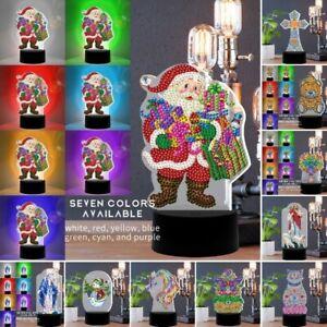 Diamond Painting Table lamp LED Night Light Christmas Decor Xmas Gifts Religion
