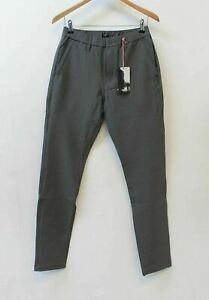 RAPHA Men's Dark Grey Stretchy Tapered Fit Loopback Trousers Size W32 L30 BNWT