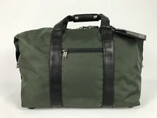 Tumi New Small Soft Travel Satchel Weekend Duffle Gym Bag Green 22149SPOP