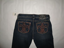 MISS ME Boot Cut Jeans NWT! Size 28