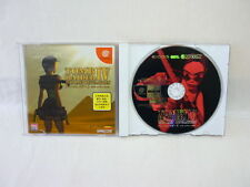 TOMB RAIDER IV 4 DreamCast Sega Capcom Import Japan Video Game dc