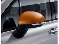 2016 Fiat 500X New Exterior Mirror Covers Orange Mopar Factory Oem