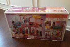 Barbie 3-StoryTownhouse 3+Ft X2+Ft