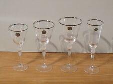 CRISTAL D'ARQUES *NEW* PRESENCE Set 4 Verres Présence Glasses