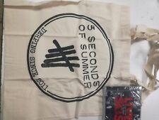 """CD 5 SECONDS OF SUMMER """"LIVE SOS -LTD + TOTE BAG-"""". Nuevo y precintado"""