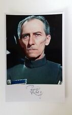 "STAR WARS - Male Actor Peter Cushing 6""X4"" Autograph Reprint Photo Colour Pic"
