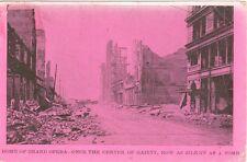 San Francisco, CA  Home of the Grand Opera, Silent as a Tomb, 1906 Earthquake