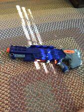 Nerf Longshot CS-6 Blue Main body only -Read Description-
