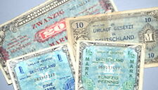 Lot of WWII GERMANY SERIES 1944 Allied Military Currency