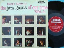 Manny Albam ORIG OZ LP Jazz greats of our time Vol.1 EX 57 Coral CL7614 Jazz Bop