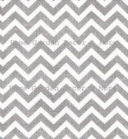 Grey White Zig Zag Chevron Geometric Stripe Vinyl Contact Paper Shelf Liner